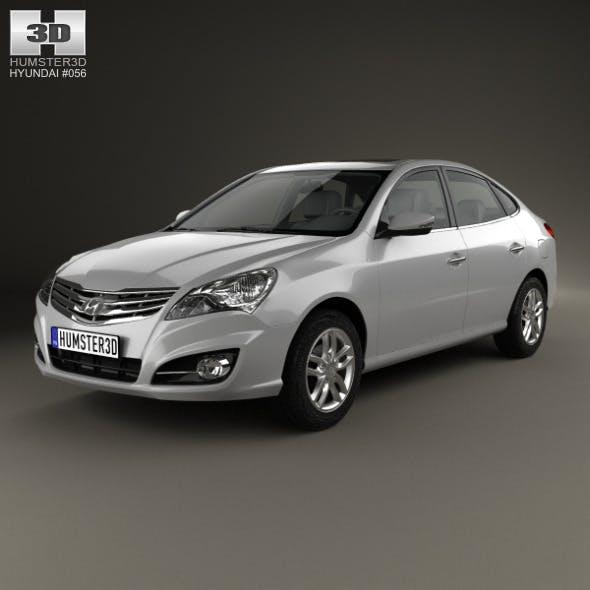 Hyundai Elantra Yue Dong 2011 - 3DOcean Item for Sale