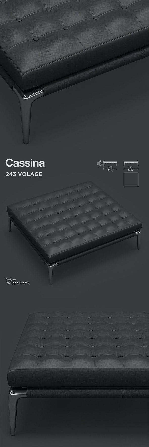 Cassina Volage - 3DOcean Item for Sale