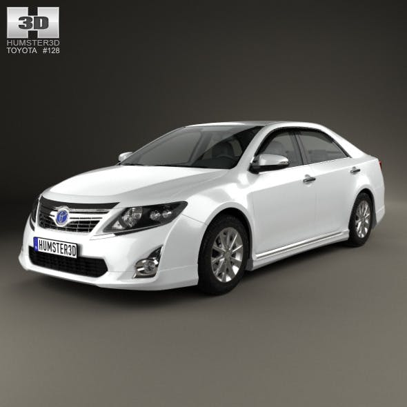Toyota Camry Hybrid 2011 - 3DOcean Item for Sale