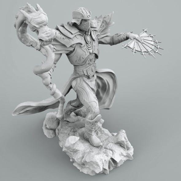 Mag dragon 3d printing - 3DOcean Item for Sale