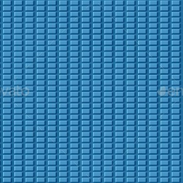 Floor Tile - Blue Grid Texture