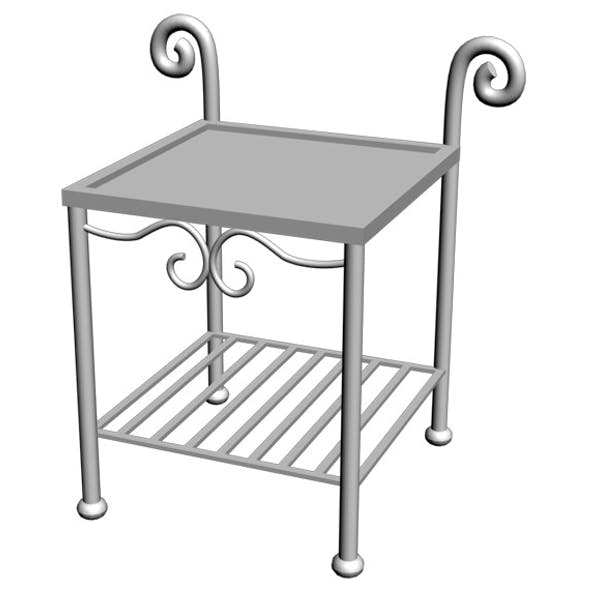 Wrought Iron Table 01