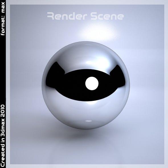 Ready Scene for Render in 3dmax 2010-2012
