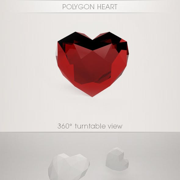 Polygon Heart