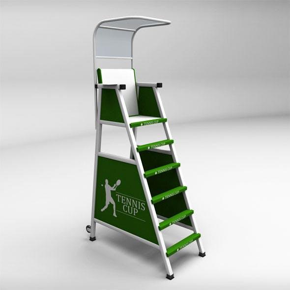 Umpire tennis judge chair - 3DOcean Item for Sale