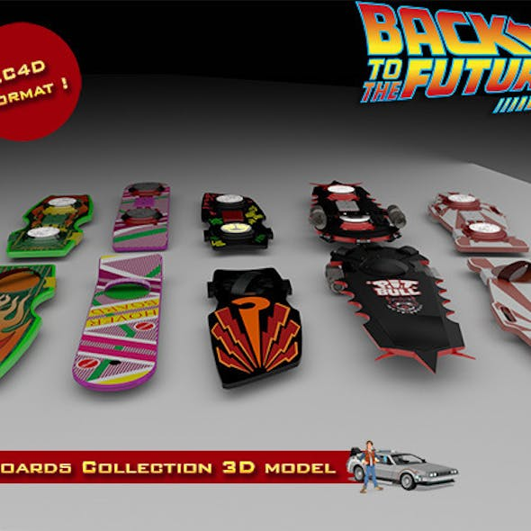 BTTF Hoverboards Collection