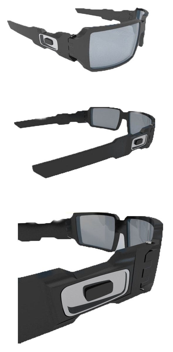 Oil rig oaklay eyewear - 3DOcean Item for Sale