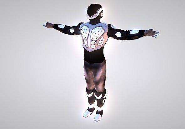 Sky-fi Future Soldier - 3DOcean Item for Sale