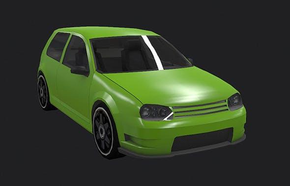 Low Poly Destructible 2Cars no. 8 - 3DOcean Item for Sale