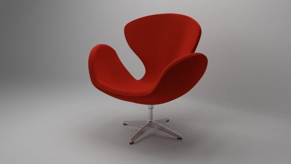 Swan Chair - 3DOcean Item for Sale