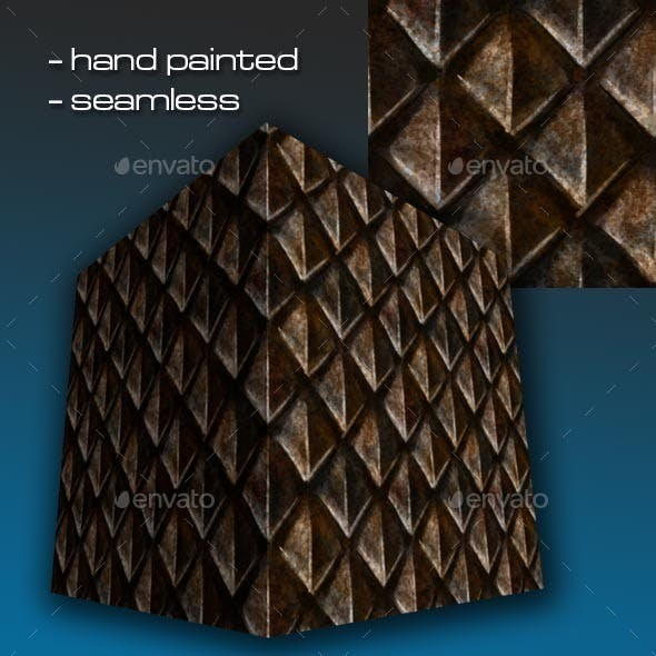 Seamless Hand Painted Rusty Scale Mail Armour 1 - 3DOcean Item for Sale