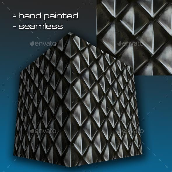 Seamless Hand Painted Scale Mail Armour 1