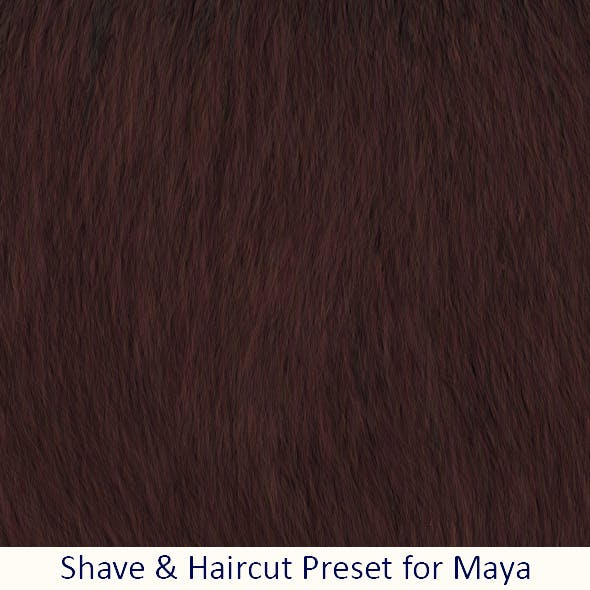 Shave Wood Texture Fur