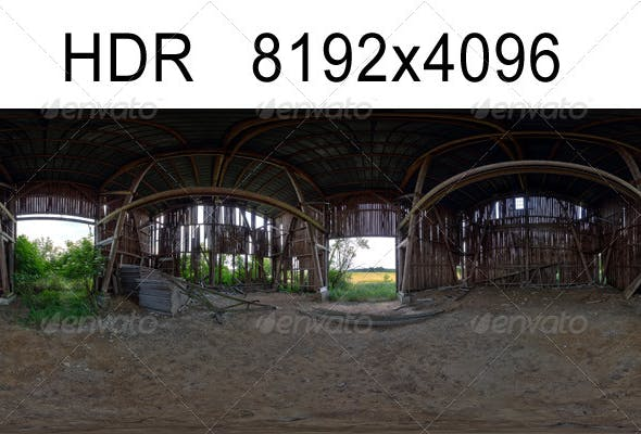 Barn HDR Environment - 3DOcean Item for Sale