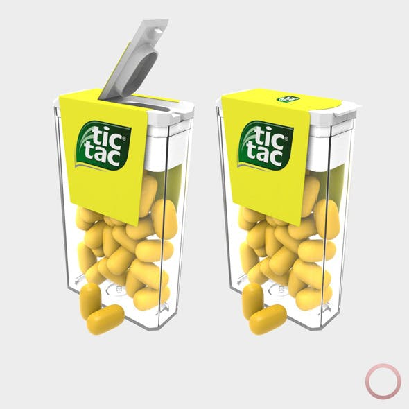 Tic Tac Pack - 3DOcean Item for Sale