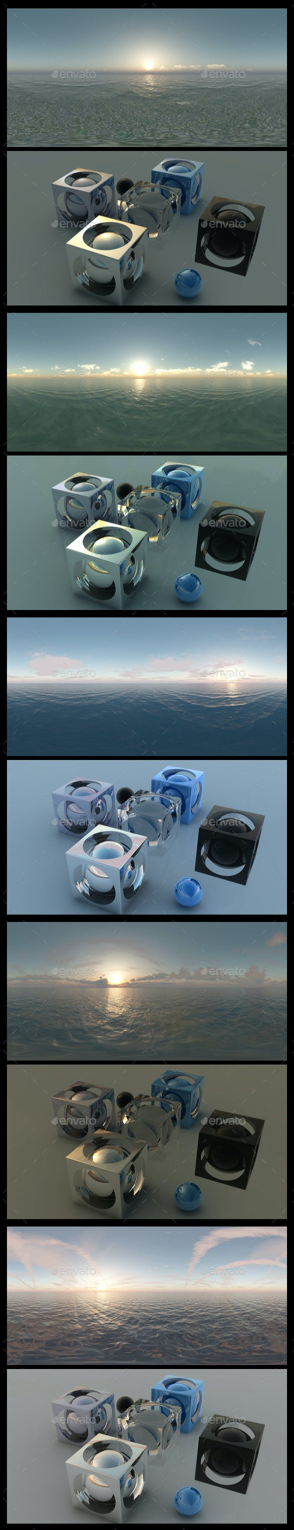 Ocean Dawn - HDRI Pack - 3DOcean Item for Sale