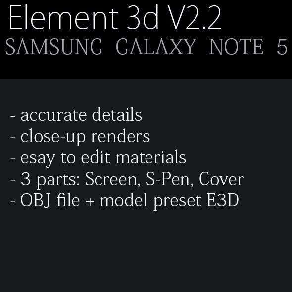 Samsung Galaxy Note 5 Sapphire Black