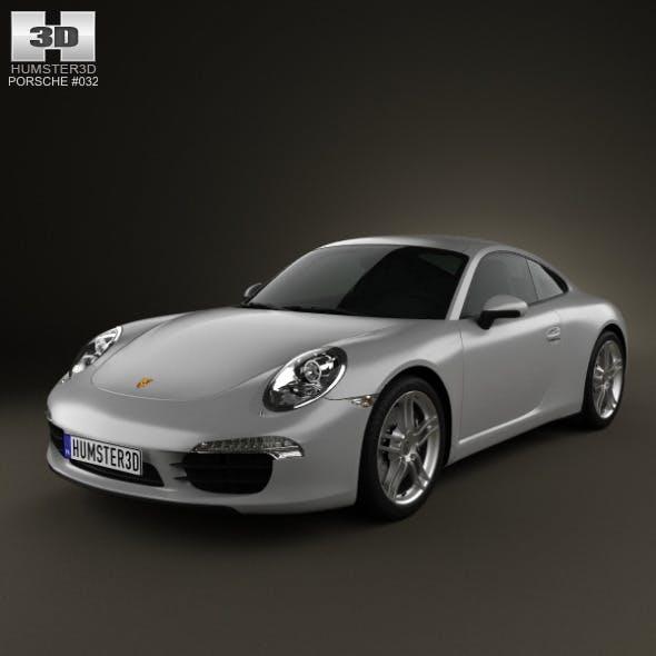 Porsche 911 Carrera Coupe 2012 - 3DOcean Item for Sale