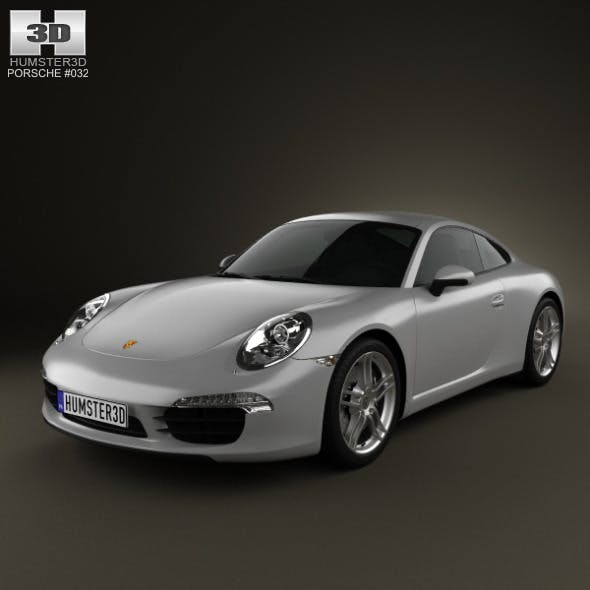 Porsche 911 Carrera Coupe 2012