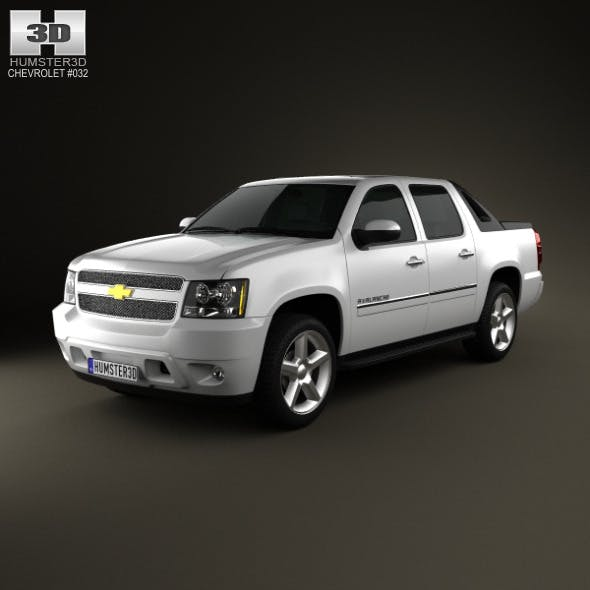 Chevrolet Avalanche 2011 - 3DOcean Item for Sale