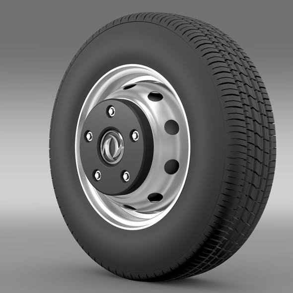 DongFeng Captain wheel - 3DOcean Item for Sale