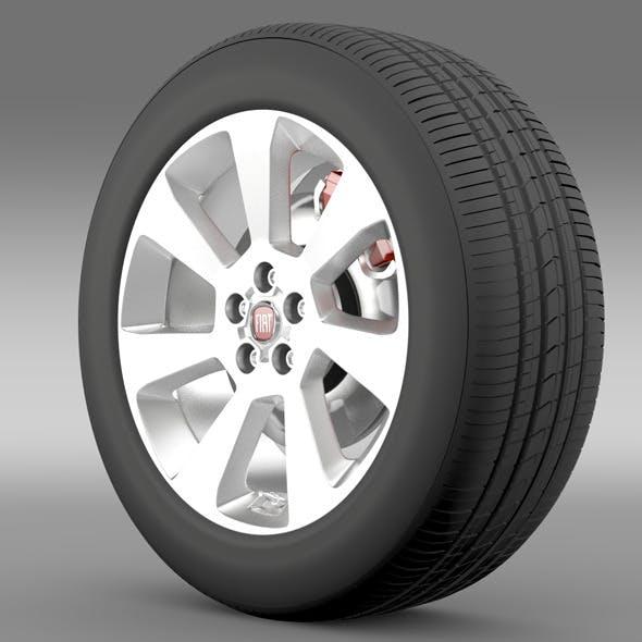 Fiat Doblo Cargo wheel 2015 - 3DOcean Item for Sale