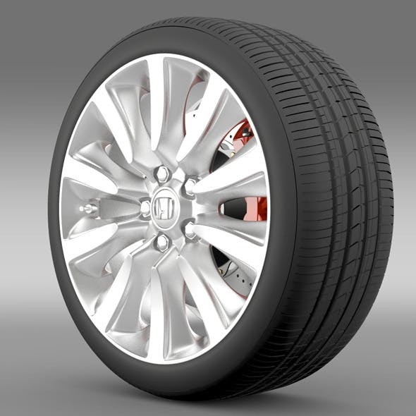 Honda Legend Hybrid wheel 2015 - 3DOcean Item for Sale