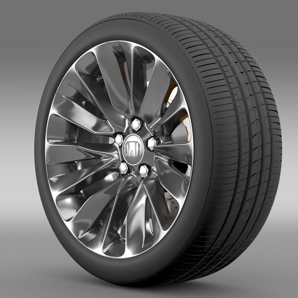 Honda Legend wheel 2015 - 3DOcean Item for Sale
