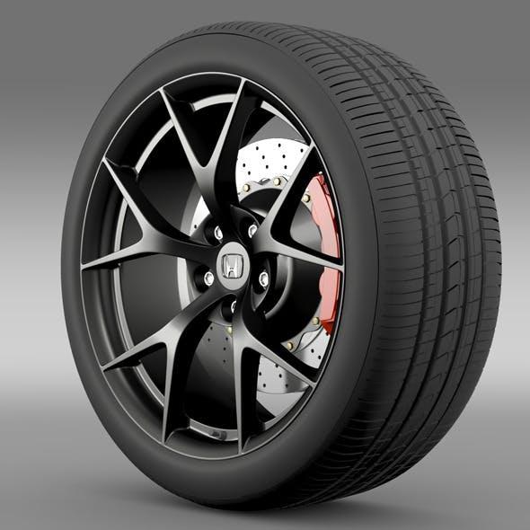 Honda NSX wheel 2015
