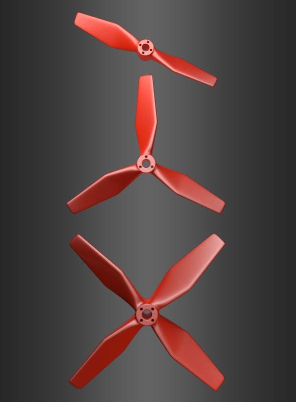 Set of 3 Propellers - 3DOcean Item for Sale