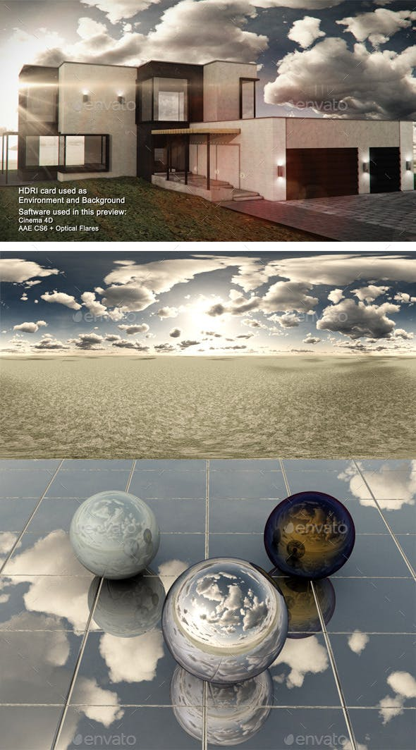 Dusk Desert 7 - 3DOcean Item for Sale