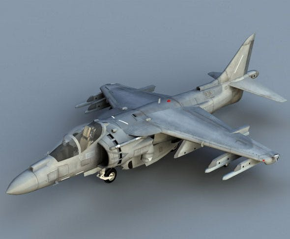 Harrier AV8-B Plus - 3DOcean Item for Sale