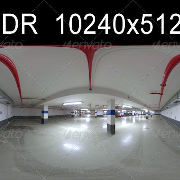 Garage 1 HDR Environment