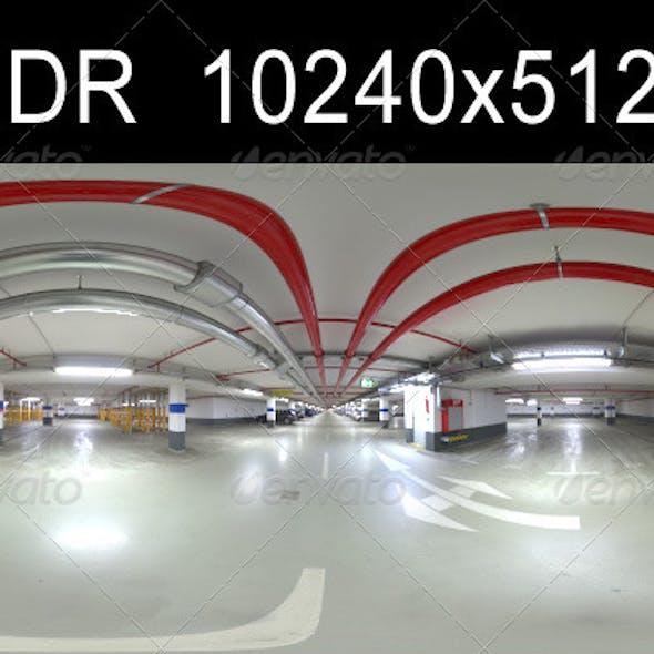 Garage 2 HDR Environment