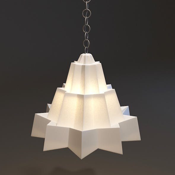 Triangle Lamp - 3DOcean Item for Sale