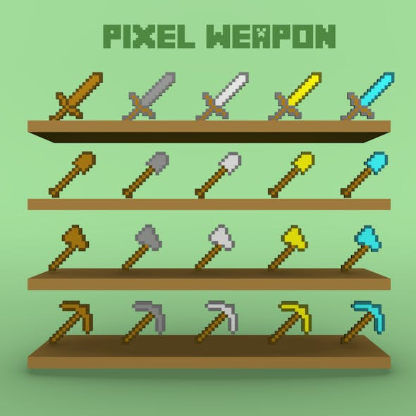 pixel weapon