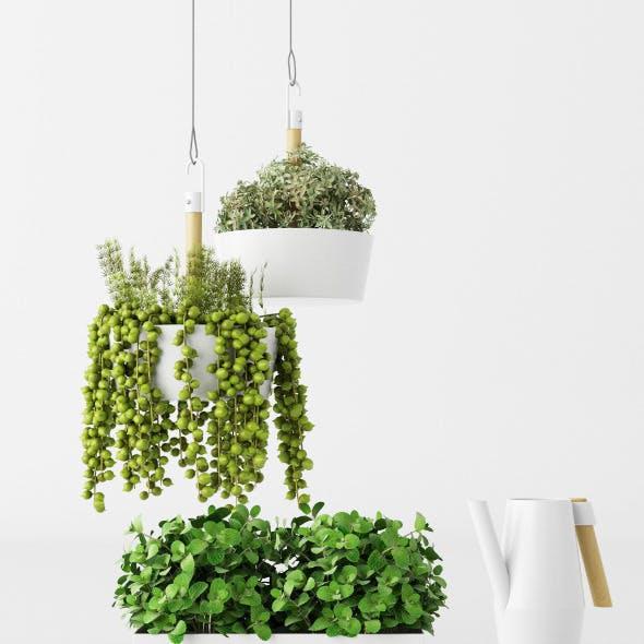 IKEA pots set + plans