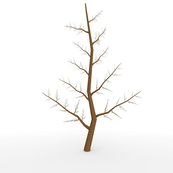 low poly twig - 3DOcean Item for Sale