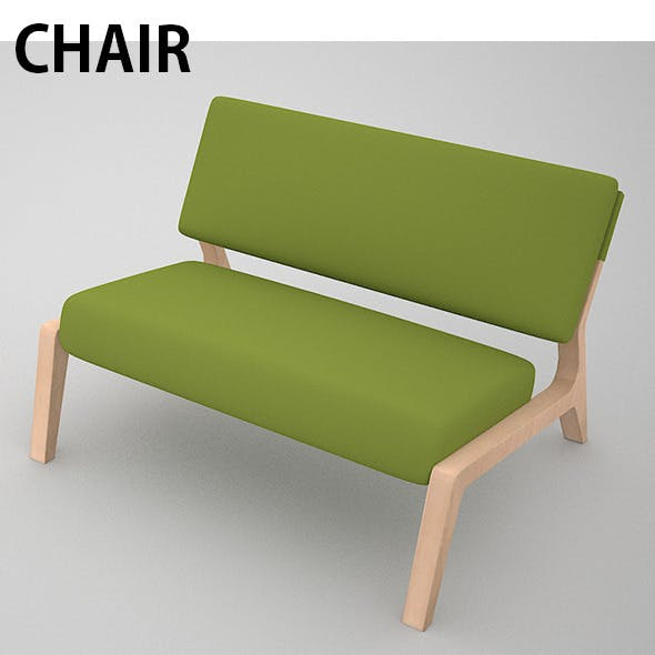 Chair model - 3DOcean Item for Sale