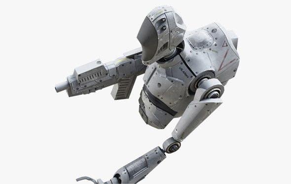 Robo Warrior - 3DOcean Item for Sale
