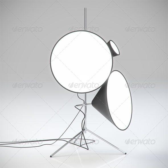 Cone Lamp - 3DOcean Item for Sale