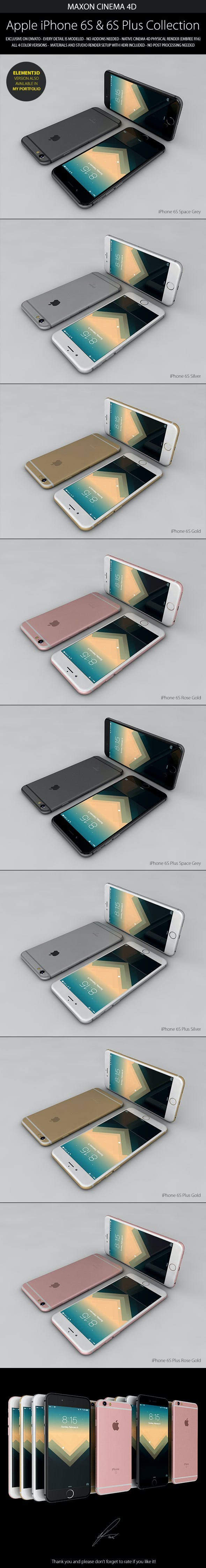 iPhone 6S & 6S Plus - 3DOcean Item for Sale