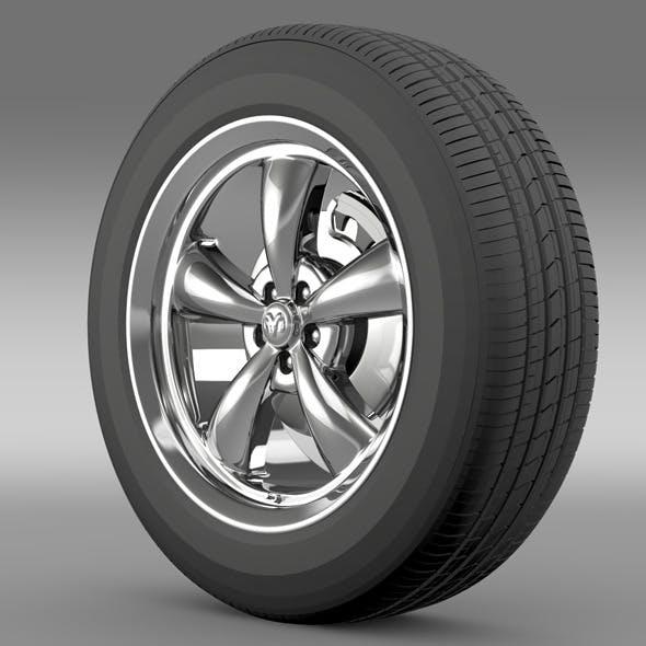 Mopar Dodge Challenger wheel