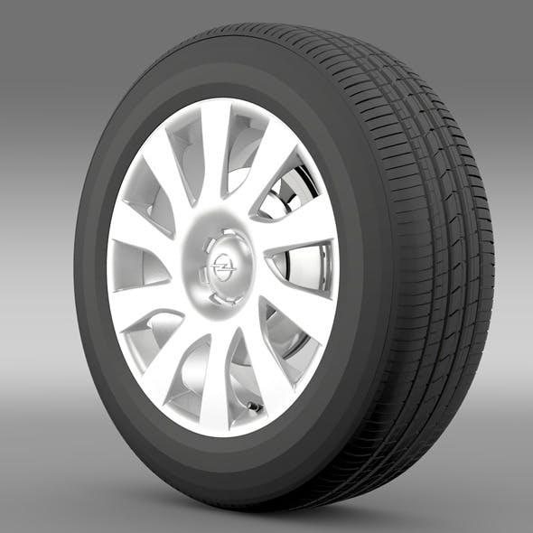 Opel Vivaro Van wheel 2015