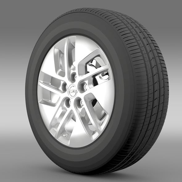 Opel Vivaro wheel 2015 - 3DOcean Item for Sale