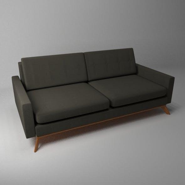 Luna Sofa - 3DOcean Item for Sale