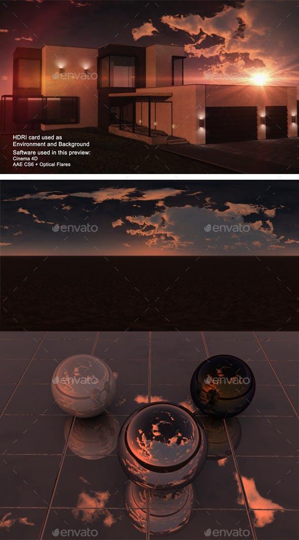 Sunset Desert 27 - 3DOcean Item for Sale