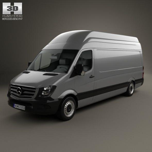 Mercedes-Benz Sprinter Panel Van LWB SHR 2013