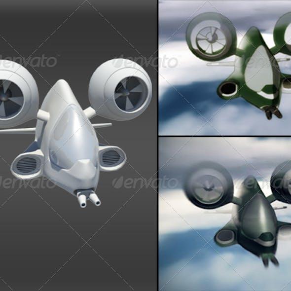 3D Airship