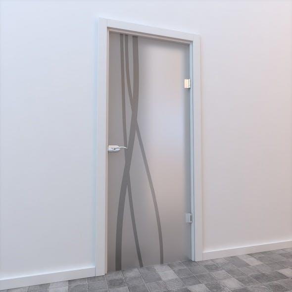 Glass Door Standart 003 - 3DOcean Item for Sale